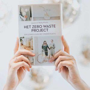 Boek zero waste project, boek van Jessie en Nicky Kroon